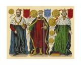 Victorian Scrap: King Edward II  King Edward III  King Richard II