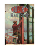 Frustrating the Iron Eater  Front Cover of the 'Dupont Magazine'  March 1919