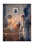 French Nurses Tend Wounded Soldiers  1915