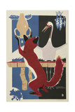 The Fox and the Crane (With Pitcher)  1962