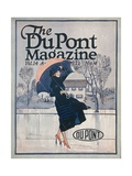 Something New in Sportswear  Front Cover of the 'Dupont Magazine'  April 1921