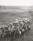 Our Reserves Awaiting Orders to Move Up to their New Positions on the Slopes of Cape Helles  1915