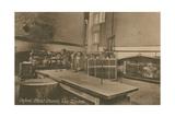 The Kitchen  Christ Church  Oxford Postcard Sent in 1913