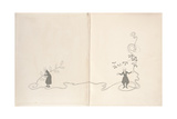 Front Endpapers - a Christmas Carol  1915