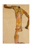 Male Nude; Mannlicher Akt  1910