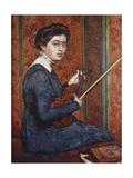 Woman with Violin (Portrait of Renee Druet); Femme Au Violin (Portrait de Renee Druet)  1910