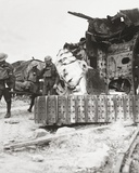 Casualties Coming Back from the Line  Pass Tanks Wrecked in Battle of the Tanks …