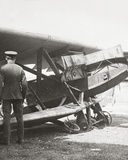 Armour-Plated 'Hun' Plane Mounting Seven Machine Guns Used to Mow Down Our Lads in the Trenches