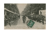 French Motorcycle Grand Prix  Fontainebleau  22 June 1913 Lavanchy Winning
