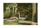 The Ruins at Virginia Water at Windsor Great Park  England Postcard Sent in 1913