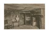 Birthroom  Shakespeare's House  Stratford Upon Avon Postcard Sent in 1913
