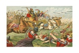 King David Victorious in Battle