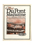Trapshooting  Front Cover of the 'Dupont Magazine'  September 1920