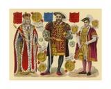 Victorian Scrap: King Henry VII  King Henry VIII  King Edward VI