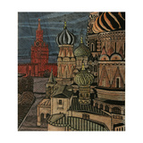 The Cupolas of St Basil's Cathedral  1970