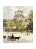 La Place Du Louvre  1902