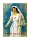 Third Red Cross Roll Call  1918