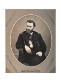 Platinum Rice Print of Ulysses S Grant  1865  Printed 1901