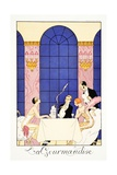 Gluttony  from 'Falbalas and Fanfreluches  Almanach des Modes Présentes  Passées et Futures'  1925