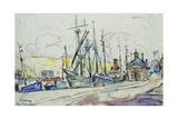 The Port at Fecamp; Le Port a Fecamp  1930