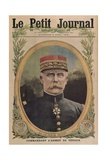 General Petain Commanding the Army of Verdun  Front Cover Illustration from 'Le Petit Journal' …