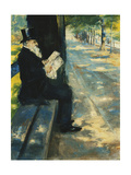 Gentleman in the Park; Herr Im Tiergarten  c1900