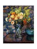 Vase of Flowers; Vase de Fleurs  c1911