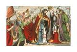 David Being Crowned King in Hebron