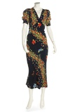 Printed Silk Crepe Dress  Ossie Clark  Print by Celia Birtwell  1974