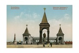 Monument to Tsar Alexander II  Moscow Postcard Sent in 1913