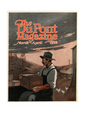Boring Machines and Explosives Twin Helpers  Front Cover of the 'DuPont Magazine'  March-April 1922