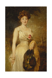 Portrait of a Lady in a White Dress  1909