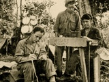 US Troops Learn Cryptography  Tarawa  Papua New Guinea  June 1943