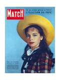 Leslie Caron in the Role of 'Gigi'  Cover of Paris-Match Magazine  1 November  1958