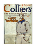 Count Von Moltke  Front Cover of Collier's Magazine  1917