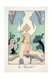 Lust  from 'Falbalas and Fanfreluches  Almanach des Modes Présentes  Passées et Futures'  1925