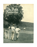 Golfing  Front Cover of the 'Dupont Magazine'  August 1923