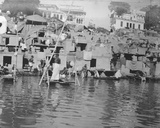 Hindus Bathing and Sun Worshipping  Lucknow  January 1912