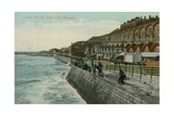 Lower Parade  East Cliff  Ramsgate Postcard Sent in 1913