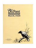International Crow-Shooting Contest  Front Cover of the 'Dupont Magazine'  March 1924