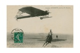 Postcard of an Antoinette Aeroplane Flown by M Demanest  Sent in 1913
