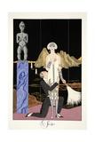 Evening  from 'Falbalas and Fanfreluches  Almanach des Modes Présentes  Passées et Futures'  1926