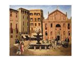 Square in Rome  1925
