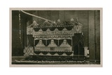 Illuminated Tram to Commemorate the Visit of the King and Queen to Oldham  12 July 1913 Postcard…