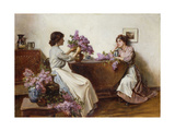 Arranging the Lilac  1906