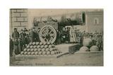 The Czar Cannon  the Kremlin  Moscow Postcard Sent in 1913