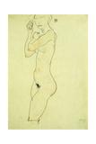 Standing Nude; Stehender Akt  1913