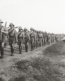 On the Long March Through Torrid Heat at Bagdad  1917