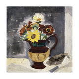 Daisies in a Lustre Jug  St Ives  1928
