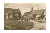 Abbey Farm in Preston Near Yeovil Postcard Sent in 1913